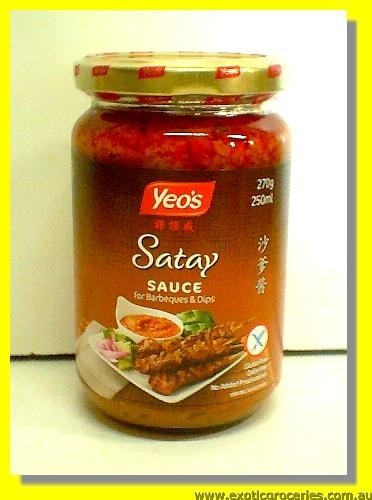 Dry Curry Rendang Paste Sauce Barbecue Satay