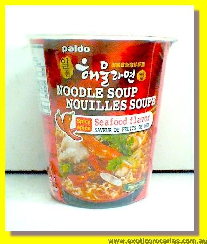 Spicy Seafood Flavour Cup Noodle