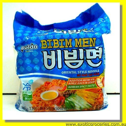 Bibim Men Korean Spicy Taste Noodle 5pkts