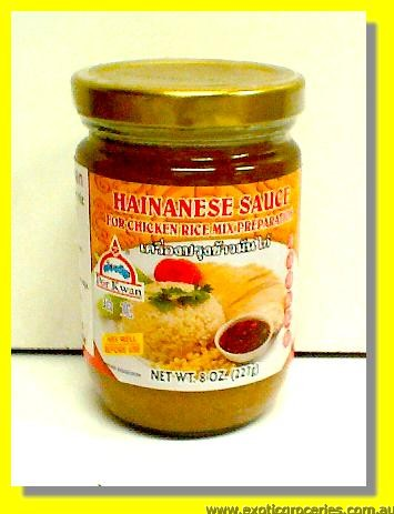 Hainanese Sauce For Chicken Rice Mix Preparation