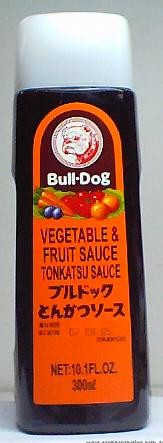 Tonkatsu Vegetable & Fruit Sauce