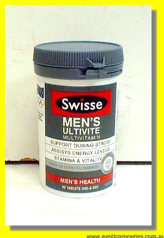 Men's Ultivite Multi Vitamin 60tablets