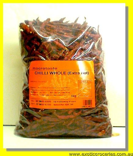Dried Chilli Whole (Extra Hot)
