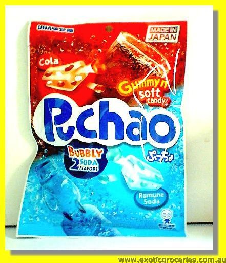 Puchao Gummy 2 Soda Bubbly Flavours