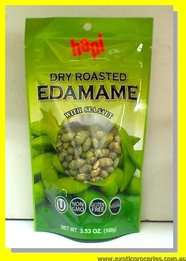 Dry Roasted Edamame with Sea Salt