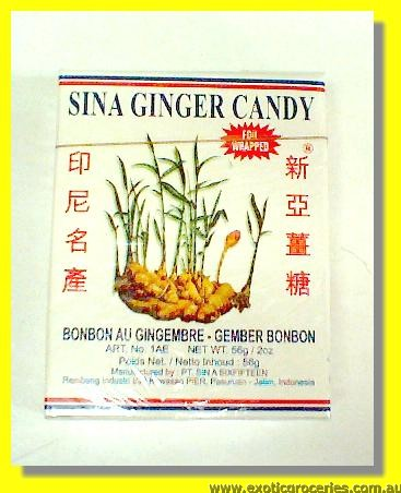 Special Ginger Candy