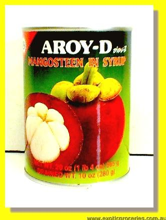 Mangosteen In Syrup