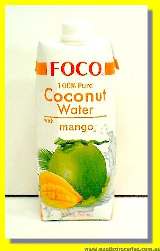 Pure Coconut Water with Mango