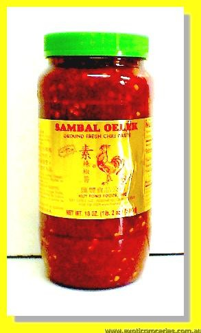 Sambal Oelek Ground Fresh Chilli