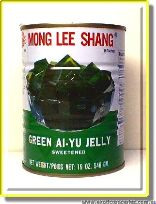 Green Ai-Yu Jelly Sweetened