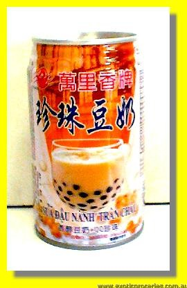 Pearl Soybean Drink with Tapioca Ball
