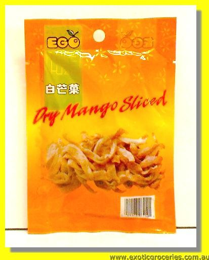 Dry Mango Sliced White