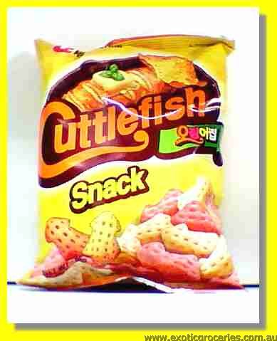 Cuttle Fish Flavored Snack