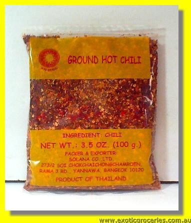 Ground Hot Chilli Coarse