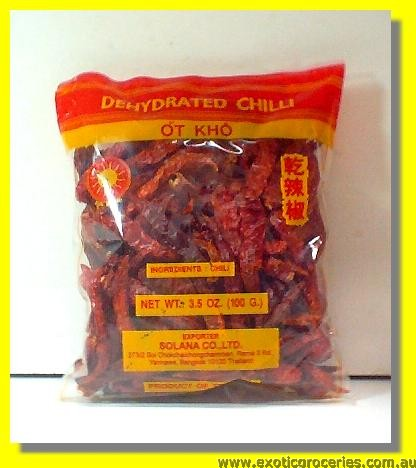 Dried Chilli (Dehydrated Chilli)