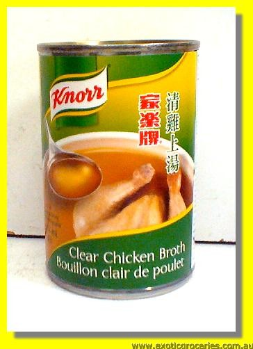 Clear Chicken Broth