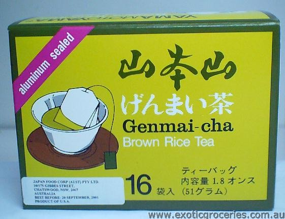 Genmai-cha Brown Rice Tea 16 Bags