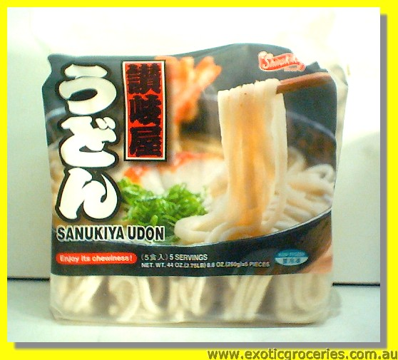 Frozen Sanukiya Udon 5 Servings