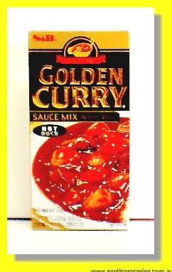 Golden Curry (Hot) Sauce Mix