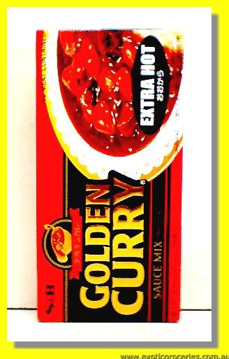 Golden Curry Sauce Mix Extra Hot