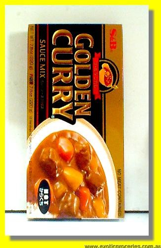 Golden Curry Sauce Mix Hot
