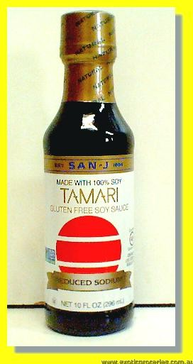 Gluten Free Tamari Soy Sauce Reduced Sodium