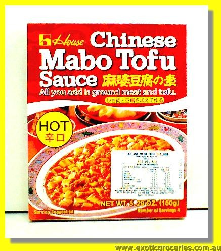 Mabo Tofu Sauce Hot