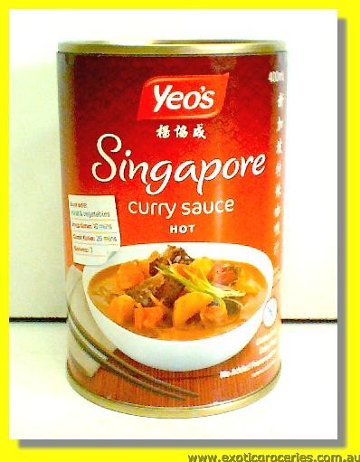Singapore Hot Curry Sauce