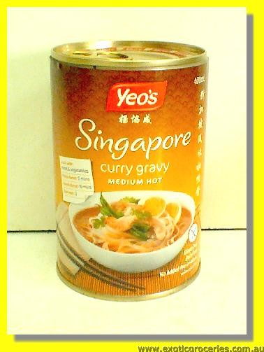 Singapore Curry Gravy Sauce