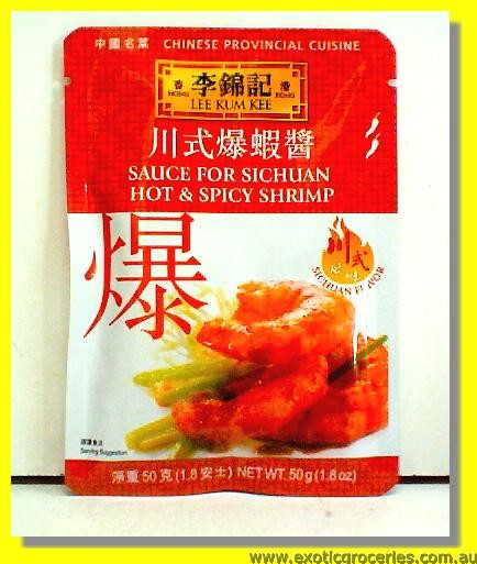 Sauce for Sichuan Hot & Spicy Shrimp