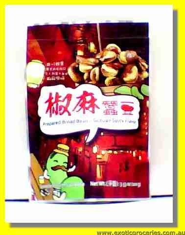 Prepared Broad Bean Sichuan Spicy Flavour