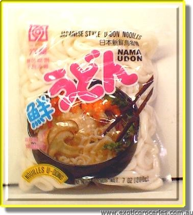 Japanese Style Udon Noodles