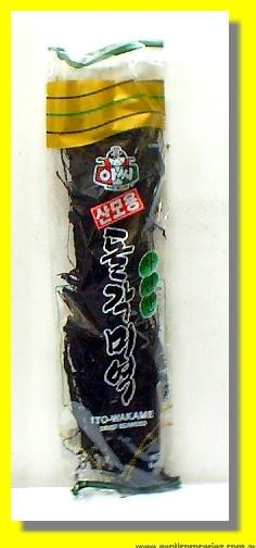 Korean Dried Seaweed Strips (Ito-Wakame)