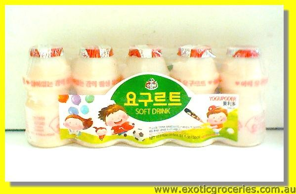 Yogupoder Frozen Yogurt Drink 5pcs