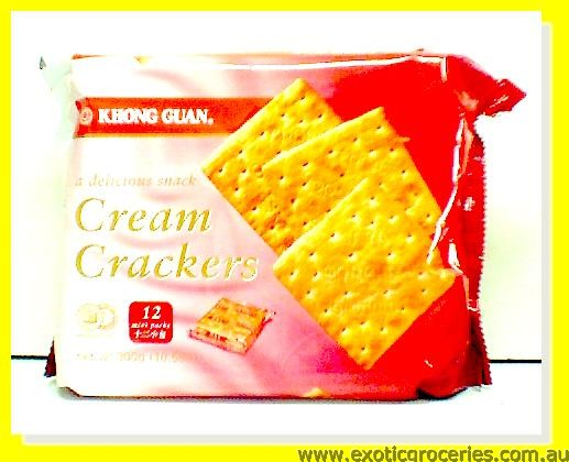 Cream Crackers 12 mini packs