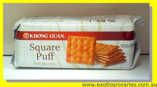 Square Puff Biscuits