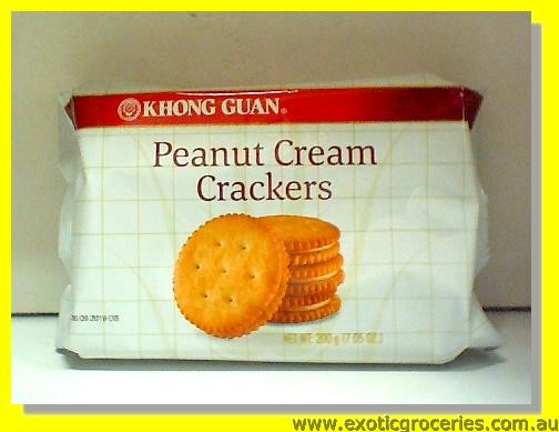 Peanut Cream Cracker