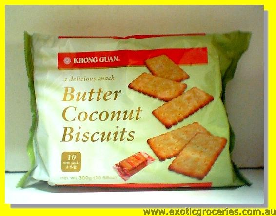 Butter Coconut Biscuits (10 mini packs)