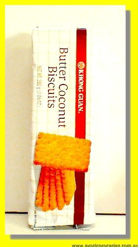 Butter Coconut Biscuits