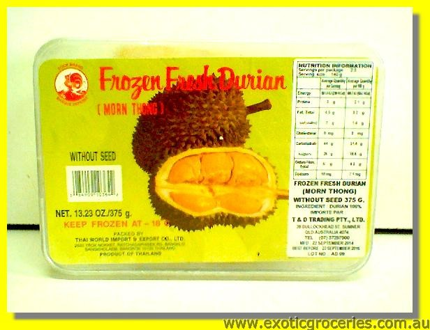 Frozen Durian without Seed