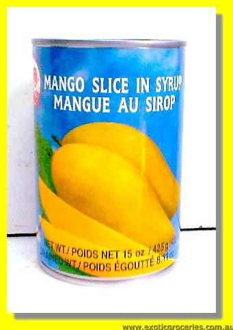 Mango Slice in Syrup