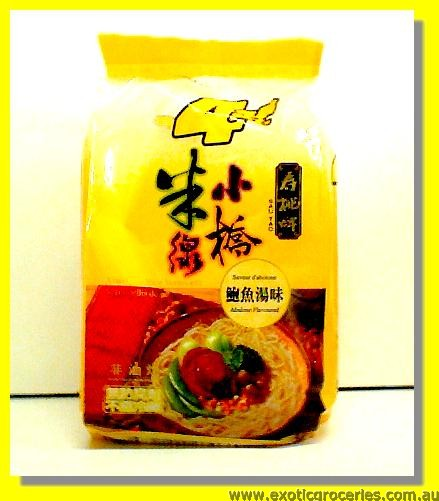 Xiao Qiao Rice Vermicelli Abalone Flaovur 4pkts