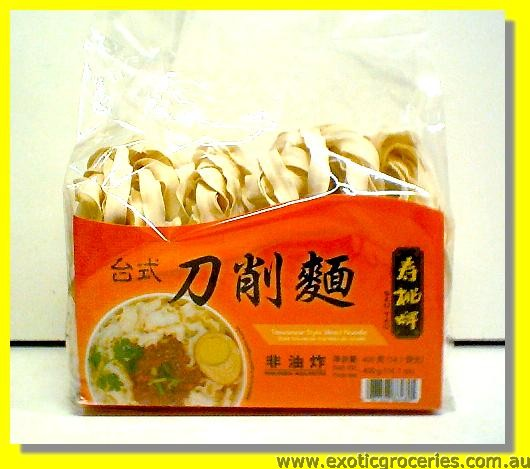 Taiwanese Style Sliced Noodle