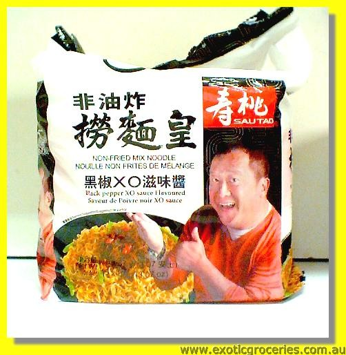 Non-Fried Mix Noodle Black Pepper XO Sauce Flavoured 5packs