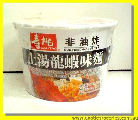 Non Fried Instant Noodle Lobster Soup Flavoured