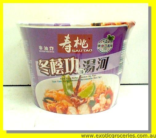 Instant Ho Fan Bowl Rice Noodle Tom Yum Kung Flavour