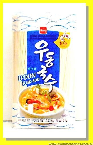 Oriental Style Noodle Blue (Udon Kuk-Soo)