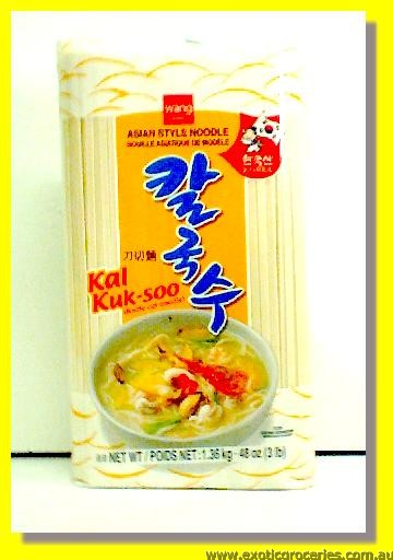 Asian Style Noodle Knife Cut Noodle Kal Kuk Soo