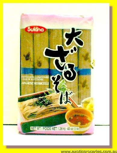 Buckwheat Soba Noodle Item No.04919