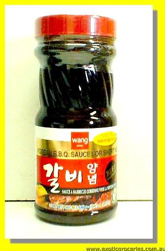 Korean BBQ Sauce for Short Rib